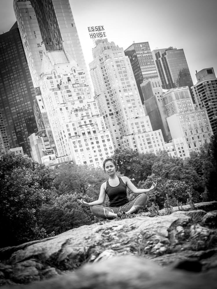 Yoga Central Park New York City