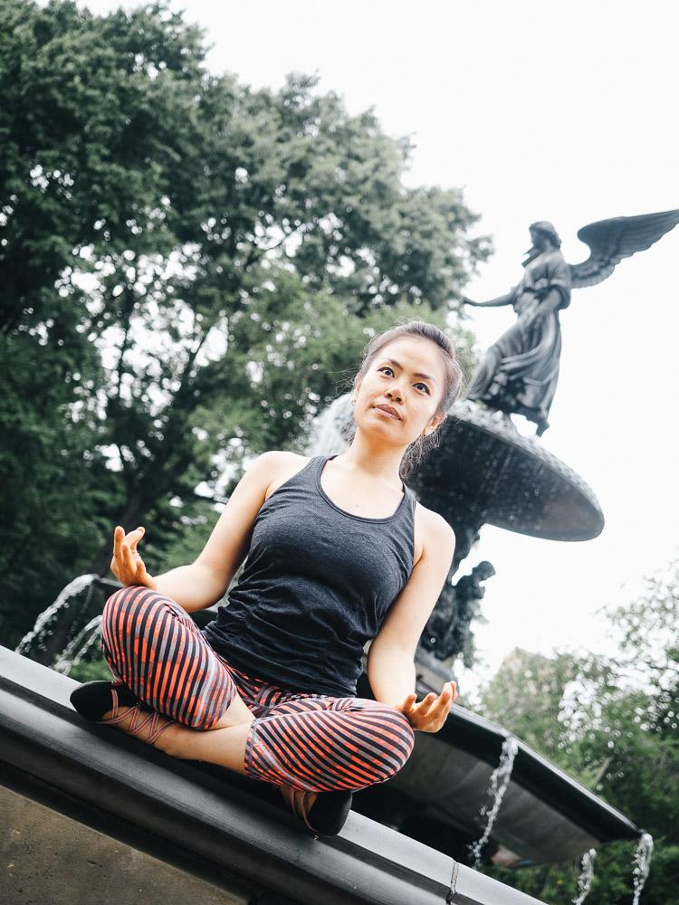 Yoga Central Park New York City - Frerk Hopf